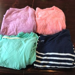 Liz Lange Maternity Shirts